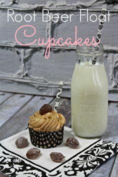 Easy Root Beer Float Cupcakes Recipe