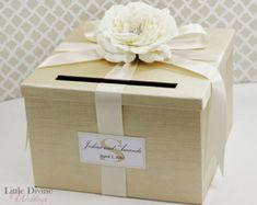 Wedding Card Box Royal Blue Money Holder by LittleDivine on Etsy