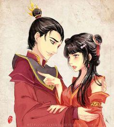 Mai & Zuko - Avatar:The Last Airbender