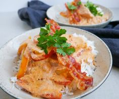 Easy Cooking, Thai Red Curry, Italian Recipes, Bacon, Clean Eating, Easy Meals, Food And Drink, Low Carb, Yummy Food