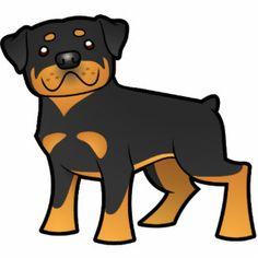 desenho de cachorro rottweiler - Pesquisa Google