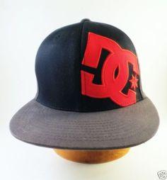 8c1102d7360 DC-Shoes-Baseball-Cap-Adjustable-Size-S-M-Cap-Hat-Black-Red-Skateboard