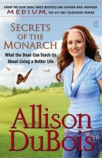 Alison Dubois  Secrets of the Monarch  Sending to a widowed loved one.  http://www.fishpond.com.au/#
