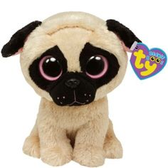 I want Pugsly Beanie Boo 5in - Party City Beanie Boo Dogs 77d4f3bc5a6c