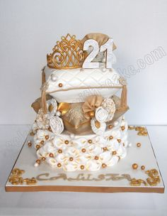 ~Celebrate with Cake!: English Vintage Pillow Stack Cake~