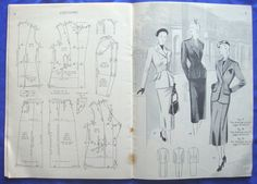 vintage HASLAM SYSTEM of DRESSCUTTING drafting system sewing pattern book No.28 | eBay