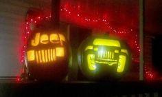 Jeep pumpkins