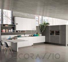 #kitchen #design #interior #furniture #furnishings #interiordesign комплект в кухню Snaidero System, Way_AWTE