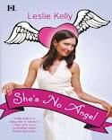 An intense mystery novel that has a bit of romance and comedy mixed within: She's No Angel by Leslie Kelly