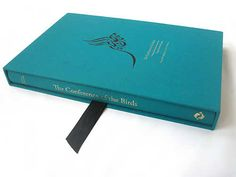 """Conference of the Birds: A Study of Farid Ud-Din Attar's Poem Using Jali Diwani Calligraphy by Farah K. Behbehani.    """"Each chapter begins with a passage from the book, followed by the name of the bird in Jali Diwani. A line from the Arabic version of the poem (with a literal English translation) that represents the essence of each story is then illustrated and broken into its component elements using the system explained on the bookmark."""""""