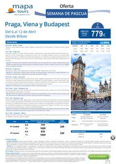 Praga, Viena y Budapest Semana de Pascua salida Bilbao **Precio Final desde 779** ultimo minuto - http://zocotours.com/praga-viena-y-budapest-semana-de-pascua-salida-bilbao-precio-final-desde-779-ultimo-minuto-2/
