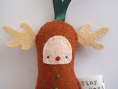 reindeer ornament!