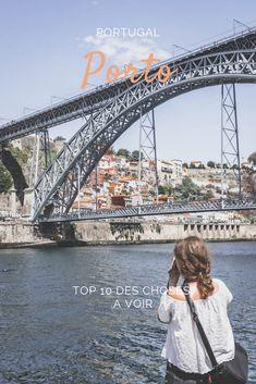 Découvrez les spots les plus incontournables et les plus secrets de Porto! / Discover the must see of Porto, Portugal. Algarve, Road Trip Portugal, Voyage Europe, Sydney Harbour Bridge, Solo Travel, Parvis, Spots, City Guides, Lisbon Portugal
