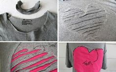 WHAT CAN YOU DO WITH AN OLD T-SHIRT