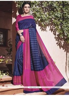 Looking for blue colour sarees? We have different color shade like royal, light, navy blue sarees. Try our exlusive range of blue silk saree, chiffon saree and georgette saree at Andaaz Fashion UK. Indian Designer Sarees, Ethnic Wear Designer, Indian Sarees, Indian Wedding Outfits, Indian Outfits, Eid Outfits, Latest Fashion Design, Casual Saree, Art Silk Sarees