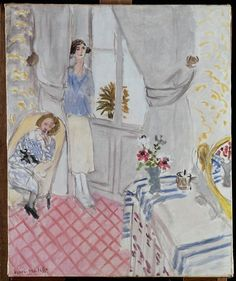 Boudoir via Henri Matisse Size: 73x60 cm