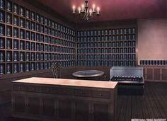 Reception, Background, Anime Background, Anime Scenery, Visual Novel Scenery…