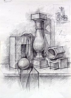 Закрыть Perspective Drawing Lessons, Perspective Art, Geometric Shapes Art, Geometric Drawing, Pencil Art Drawings, Art Drawings Sketches, Drip Painting, Painting & Drawing, Academic Drawing