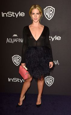 Emily Bett Rickards - InStyle And Warner Bros. Golden Globe Awards 2016 Post-Party in Beverly Hills, Emily Bett Rickards, Golden Globe Awards latest photos Emily Bett Rickards, Arrow Felicity, Felicity Smoak, Golden Globe Award, Golden Globes, Miley Cyrus, Austin Nichols, Danielle Panabaker, Arrow Serie