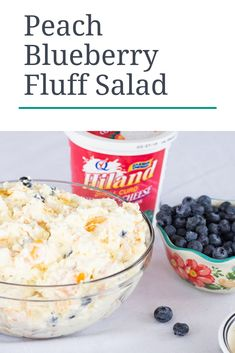 Cottage Cheese, Recipe Today, Cravings, Blueberry, Salads, Peach, Tasty, Breakfast, Desserts