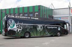 Neuer Bus für unser Team! Sports Clubs, Buses, Austria, Busses