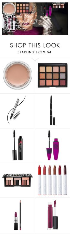 """""""The Countess   Lady Gaga INSPIRED   American Horror Story   Makeup Tutorial"""" by oroartye-1 on Polyvore featuring beauty, MAC Cosmetics, Morphe, Chantecaille, Forever 21, Smashbox, Maybelline, Kat Von D and ColourPop"""