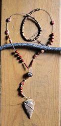 ORANGE DREAM Handcrafted jewelry by Deborah Foreman - POW! JEWELS