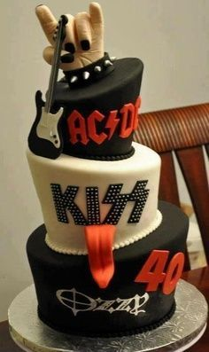 Guitar cakes - photo and ideas!