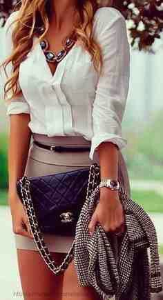 A longer skirt, and I'm sold. Gotta keep it classy first, sexy is all about the attitude.