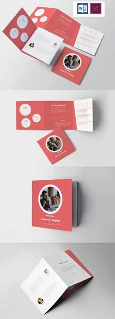 Explore more than ready to use brochure design templates for pamphlets, proposals, reports, and manuals in a variety of styles. Magazine Layout Design, Book Design Layout, Book Cover Design, Design Design, Graphic Design, Letterhead Template, Indesign Templates, Brochure Template, Adobe Indesign