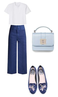 """Summer day"" by nkotovic on Polyvore featuring Sea, New York and TIBI"
