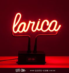 Neon Larica http://leite-com.com.br/loja/produtos/neons/neon-larica/