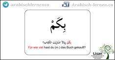 """""""Für wie  viel?""""  arabisch-deutsch"""