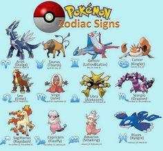 Pokemon Zodiac Sign. On that Rapidash swag.