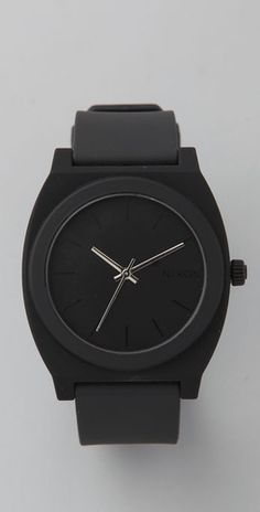 Nixon time teller P watch. black on black fabulous.