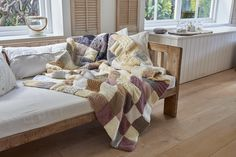 Want to knit your own throw?