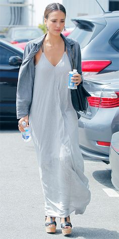 Look of the Day - July 3, 2014 - Jessica Alba from #InStyle
