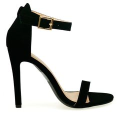 Single Strap Ankle Heels | The o'jays, Products and Shoes
