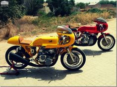 Benelli Sei Cafe Racers - Goodhal Garage