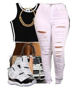032315 by polyvoreitems5 on Polyvore featuring polyvore, fashion, style, adidas, Gucci, Kate Spade and Retrò