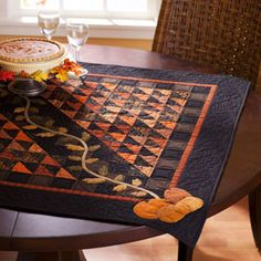 292 Best Fall Quilts Images On Pinterest Fall Quilts