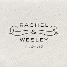 Estate Modern Wedding Logo by southelliott on Etsy