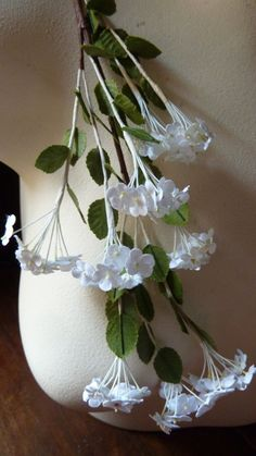Vintage Forget me Nots in White for Bridal, Wreaths, Bouquets, Boutonnieres, Corsages, Crafts.