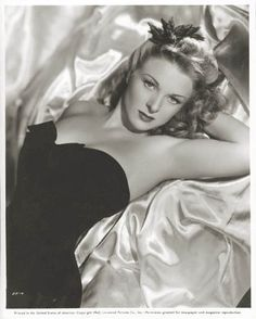 Evelyn Ankers, 1930's and 1940's Universal actress. Appeared in The wolf man, Hold that ghost, Ghost of Frankenstein, Son of Dracula, The Invisible man's revenge, The Frozen Ghost, Weird woman and Black beauty to name a few.