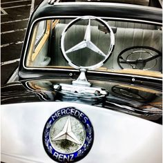Old Mercedes Benz at the Walt Disney Studios for Cars 2 Event