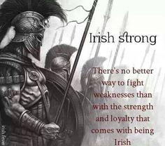 Irish Irish Strong Irish