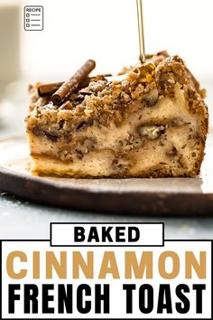 Cinnamon French Toast Bake, Brioche French Toast, Brioche Bread, Breakfast Pancakes, Breakfast Casserole, Streusel Topping, French Toast Casserole, Quick Easy Meals, It's Easy