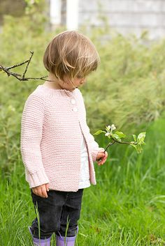 Lottie sweater -- so sweet.