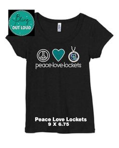 Peace Love Lockets (Origami Owl). $25.00, via Etsy.