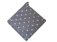 Topflappen mit Sternen von La Finesse